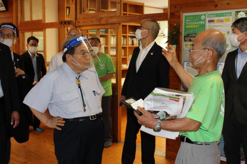 北村地方創生担当大臣が当施設を視察で来訪されました
